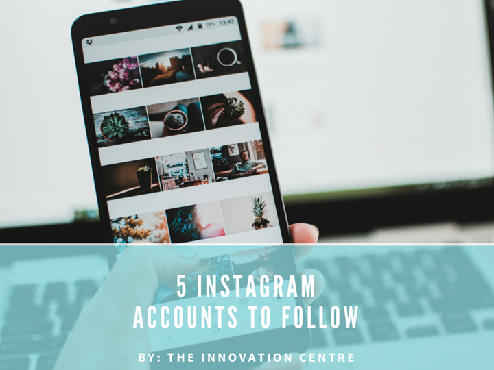 5 Instagram Accounts to Follow