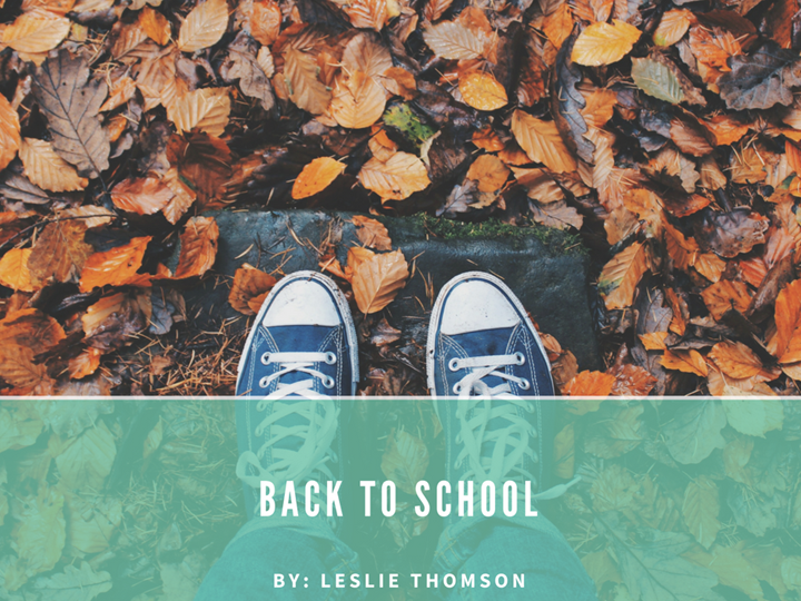 Back To School | Time for a fresh start!